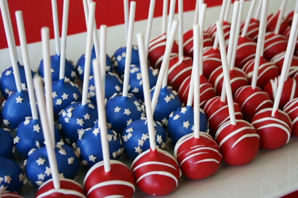 4th of July Decorations Ideas Patriotic Pops