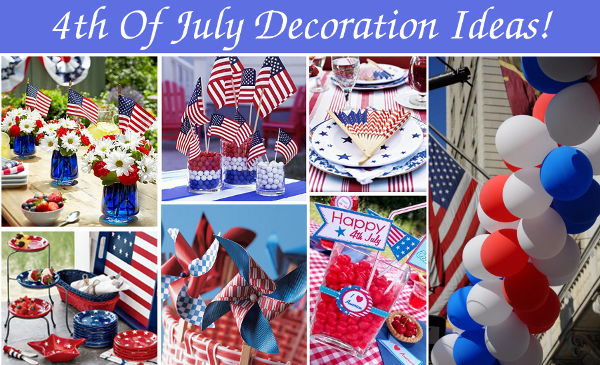 4th of July Decorations Ideas for Home