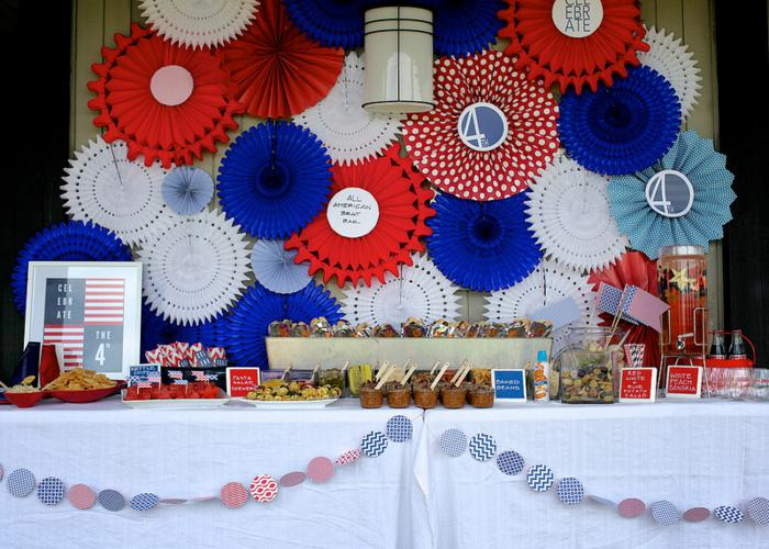 4th of July Decorations and Outdoor Party Ideas