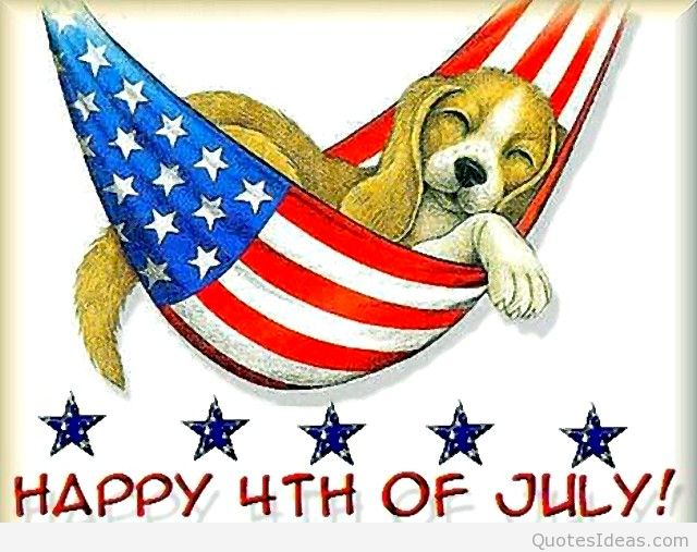 4th of July Images with Dogs