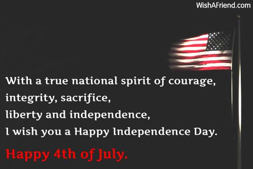 4th of July Messages Quotes