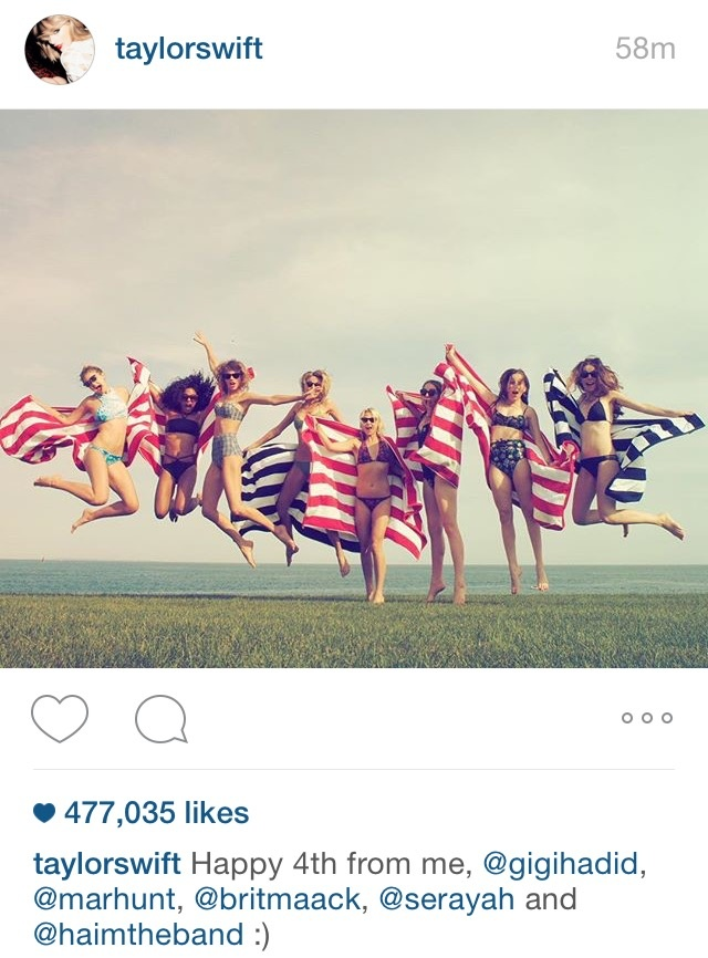 fourth of july instagram captions