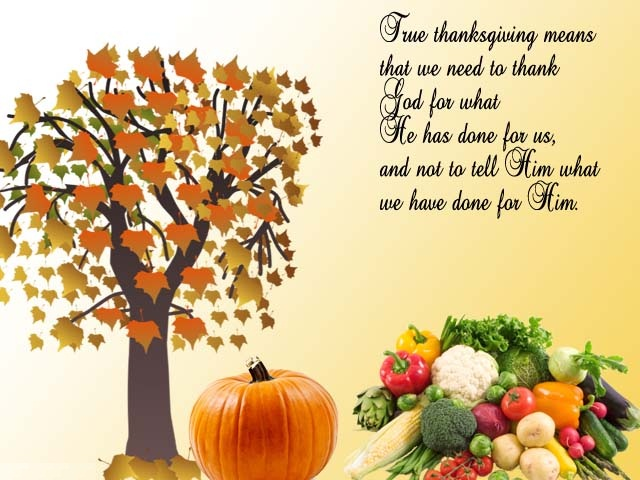 Amazing Thanksgiving Day Messages Status