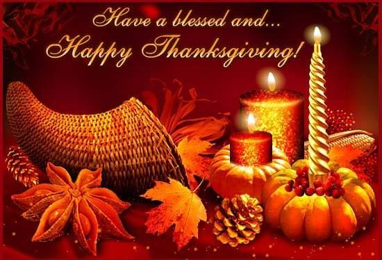 Happy Thanksgiving Day Blessings Pictures