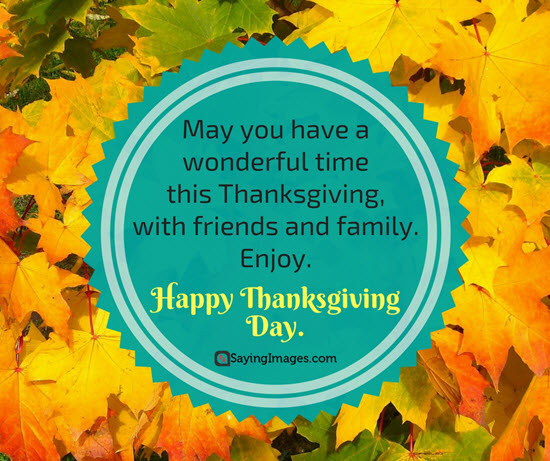 Happy Thanksgiving Greetings Wishes Quotes
