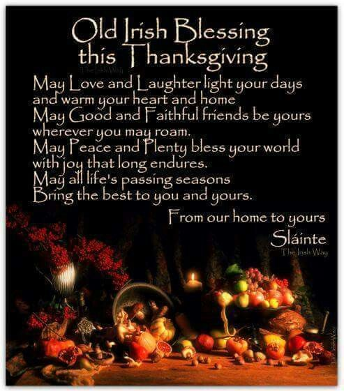 Thanksgiving Blessings Wishes Quotes For Friends
