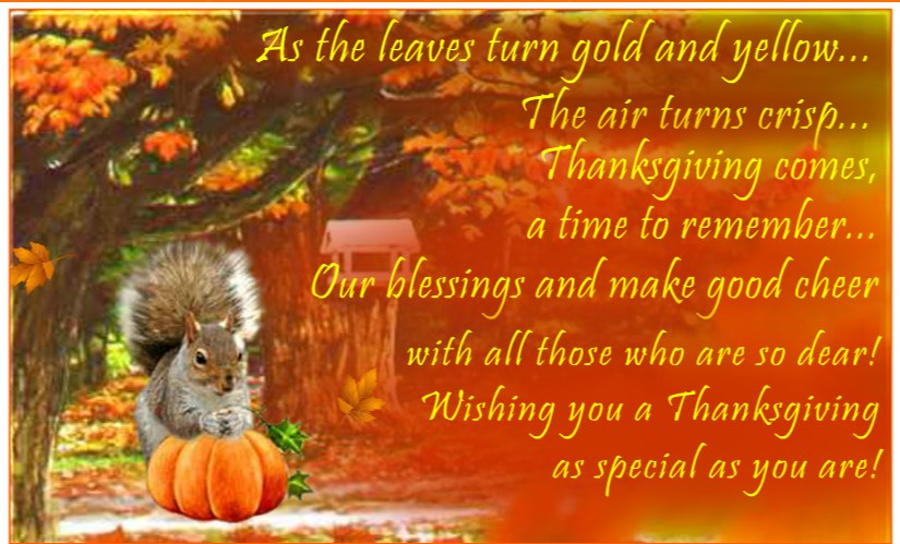Thanksgiving Day Messages Hd Print Images