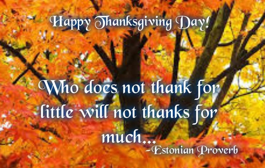 Thanksgiving Day Quotes Line To God