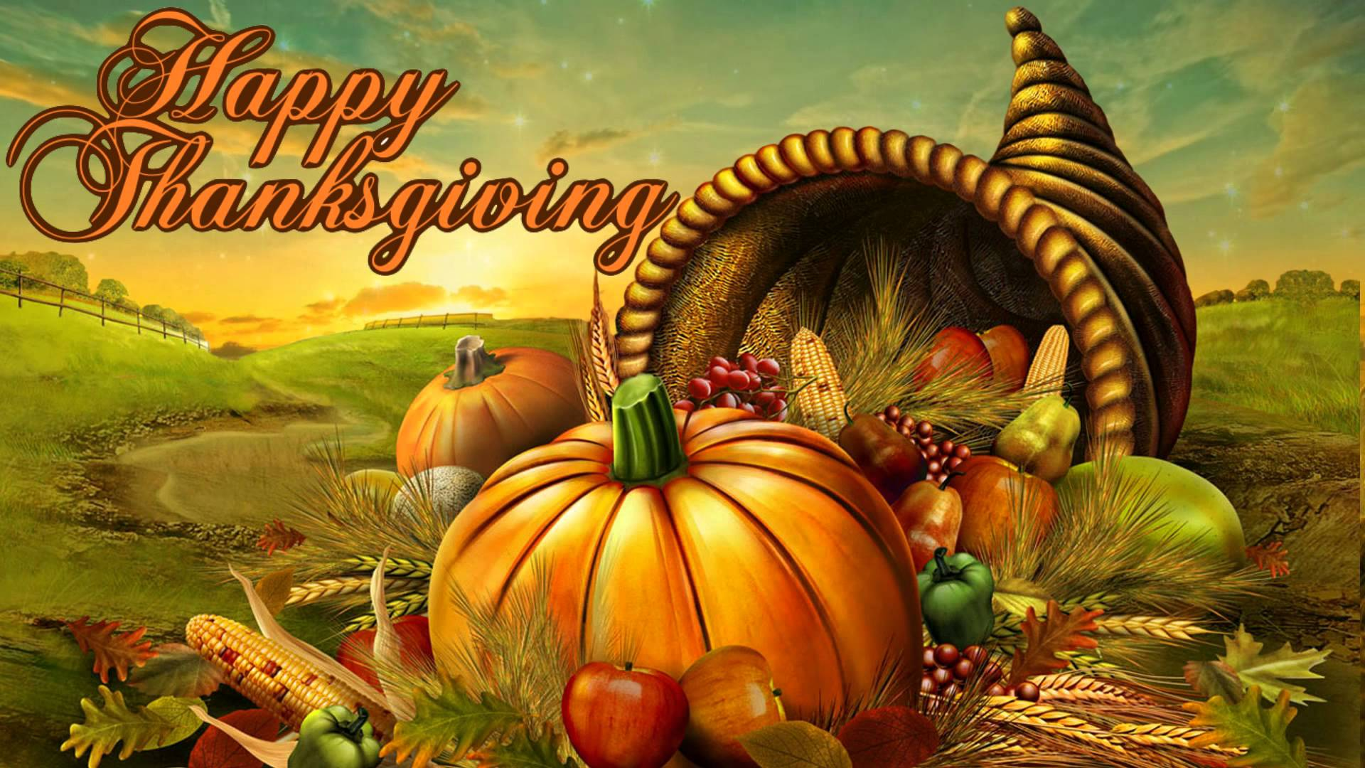 Thanksgiving Day Wishes Hd Wallpaper Download
