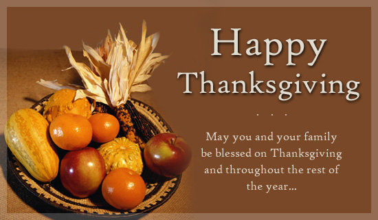 Thanksgiving Day Wishes Messages Free Pictures