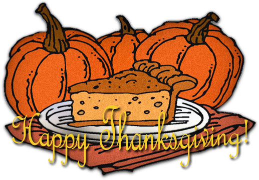 Thanksgiving Feast Clipart Funny