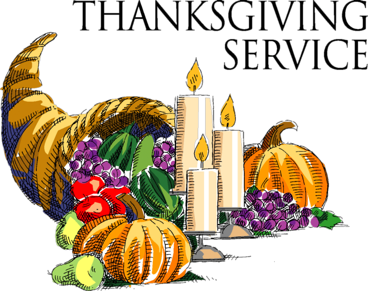 Thanksgiving Service Clipart 2020