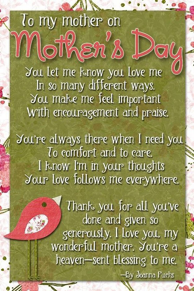 Cute Perfect Mothers Day Quotes