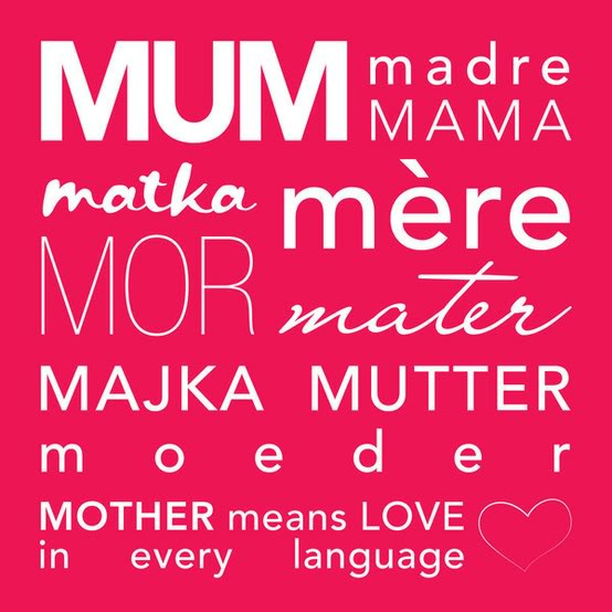 Mothers Day Quotes In Different Language